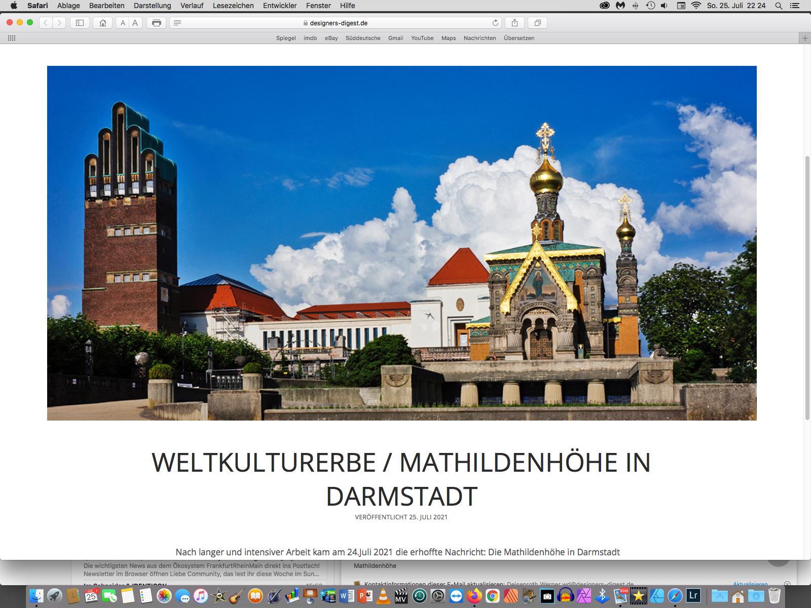 Weltkulturerbe Mathildenhöhe Darmstadt